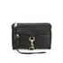 Rebecca Minkoff Women's Mini Mac Leather Cross Body Bag - Black with Gold Hardware: Image 1