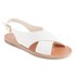 Ancient Greek Sandals Women's Maria Leather Sandals - White: Image 5