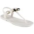 Ted Baker Women's Verona Bow Jelly Sandals - Cream/Black: Image 5