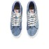 Vans Men's California SK8-Hi Reissue Vintage Sunfade Hi-Top Trainers - Dress Blue: Image 2