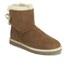 UGG Women's Selene Mini Sheepskin Boots - Chestnut: Image 5