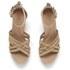 UGG Women's Lillie Suede Wedged Sandals - Wet Sand: Image 2