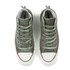 Converse Women's Chuck Taylor All Star Canvas Tri-Zip Hi-Top Trainers - Surplus Green: Image 2