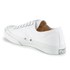 Converse Jack Purcell LTT Canvas Trainers - White: Image 5