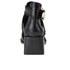 Senso Women's Malika Croc Leather Heeled Ankle Boots - Ebony: Image 3