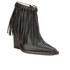 By Malene Birger Women's Ounni Leather Tassel Ankle Boots - Black: Image 5