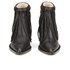 By Malene Birger Women's Ounni Leather Tassel Ankle Boots - Black: Image 4