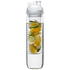 Sagaform Fresh Bottle With Fruit Piston - Clear: Image 1