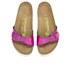 Birkenstock Women's Madrid Single Strap Metallic Sandals - Mirror Pink: Image 2