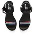 Love Moschino Women's Cleated Platform Sandals - Black: Image 2