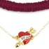 Venessa Arizaga Women's I Love You OK Necklace - Burgundy: Image 2