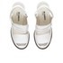 Jil Sander Navy Women's Leather Heeled Sandals - White: Image 2