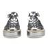 Jil Sander Navy Women's Leather Strappy Flatform Sandals - Dark Grey: Image 4