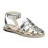Jil Sander Navy Women's Leather Strappy Ankle Strap Sandals - Dark Grey: Image 5