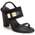 See By Chloé Women's Leather/Suede Heeled Sandals - Black: Image 5