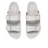 Ash Women's Takoon Double Strap Suede Sandals - Light Silver: Image 2