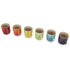 Le Creuset Stoneware Rainbow Espresso Mugs (Set of 6) - Multi: Image 2