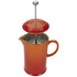 Le Creuset Stoneware Cafetiere Coffee Press - Volcanic: Image 4