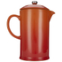 Le Creuset Stoneware Cafetiere Coffee Press - Volcanic: Image 5