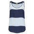 Twist & Tango Women's Ida Vest Top - Light Blue Stripe: Image 1