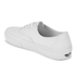 Vans Authentic Canvas Trainers - True White : Image 5