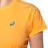 Asics Women's Tiger Stripe Running T-Shirt - Fizzy Peach: Image 4