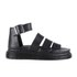 Dr. Martens Women's Shore Clarissa Chunky Strap Leather Sandals - Black Brando: Image 1