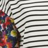 VILA Women's Tinny Print Sleeve Dress - Snow White: Image 3