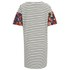VILA Women's Tinny Print Sleeve Dress - Snow White: Image 2