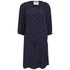 Maison Scotch Women's Printed Beaded Neckline Dress - Navy: Image 1