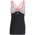 Skins A200 Women's Active Compression Tank Top - Black/Orange: Image 2