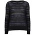 rag & bone Women's Cassie Boatneck Jumper - Black: Image 1