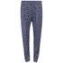 Six Ames Women's Dulga Printed Trousers - Navy: Image 1