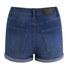 Cheap Monday Women's 'Short Skin' High-Waist Denim Shorts - Sonic: Image 4