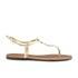 Lauren Ralph Lauren Women's Aimon Leather Sandals - Rl Gold: Image 1