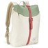 Herschel Supply Co. Women's Post Mid Volume Backpack - Natural/Foliage/Flamingo Rubber: Image 2
