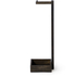 Wireworks Dark Oak Freestanding Toilet Roll Holder: Image 5