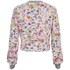 Markus Lupfer Women's Sticker Print Donna Sweatshirt - Pink: Image 3