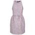 Markus Lupfer Women's Floral Puff Jacquard Erica Dress - Lilac: Image 1