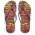 Havaianas Women's Slim Animals Flip Flops - Aubergine: Image 1
