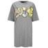 Love Moschino Women's Love T-Shirt Dress - Grey: Image 1