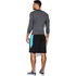 Under Armour Men's Armour HeatGear Long Sleeve Compression Top - Carbon Heather/Black: Image 4