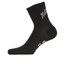 Nalini Blue Label Settanta Socks - Black/White: Image 1