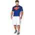 T-Shirt Under Armour® Alter Ego -Superman Bleu: Image 3