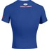Under Armour Men's Transform Yourself Compression Top - Blue/White/Red: Image 2