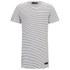 Religion Men's Marley Stripe Short Sleeve Crew Neck T-Shirt - White/Black: Image 1