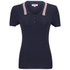 Opening Ceremony x Chloe Sevigny Women's Westerburg Short Sleeve Polo Shirt- Navy: Image 1