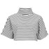 The Fifth Label Women's Lonely Sea Top - White/Black: Image 1