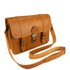 Grafea Women's LA Leather Satchel - Tan: Image 2