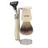 Truefitt & Hill Double Wire Razor and Brush Stand - Chrome: Image 2